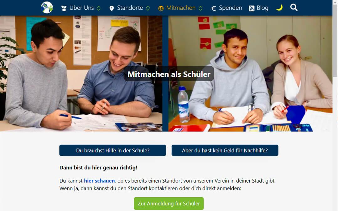Kostenlose Nachhilfe für Schüler*innen: Studenten bilden Schüler