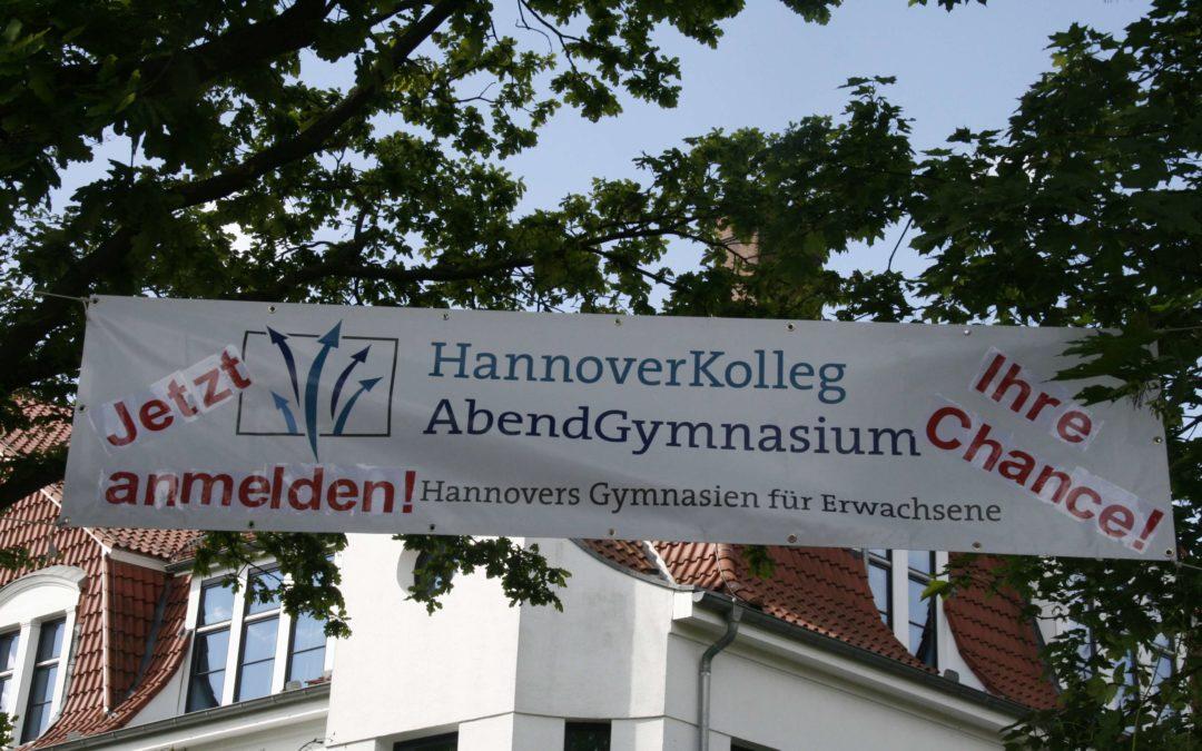 Info-Veranstaltungen am Hannover Kolleg und Abendgymnasium Hannover: Abitur oder Fachhochschulreife auf dem Zweiten Bildungsweg